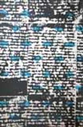 Papiers peints (noir-bleu-blanc) / peintre Gérard Duchêne   Duchêne, Gérard. Autre